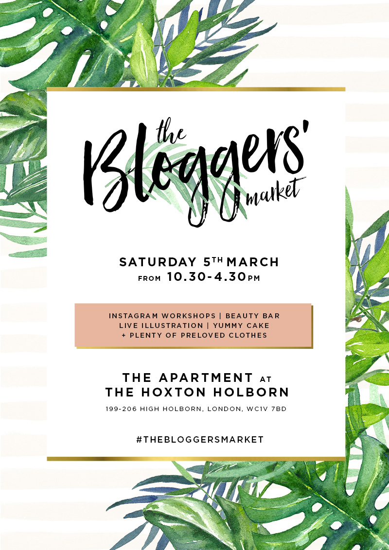 TheBloggersMarket 3 march 2016 poster